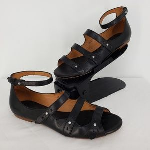 Madewell The Jessie Sandals Black Size 9